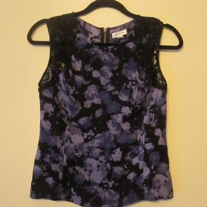 Urban Outfitters Silence + Noise Floral Lace Tank